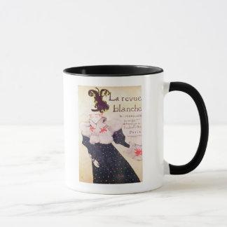 Poster advertising 'La Revue Blanche', 1895 Mug