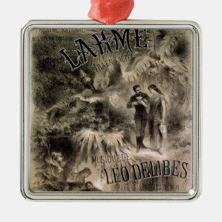 Poster advertising 'Lakme' Christmas Ornament
