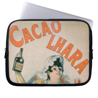 Poster advertising 'Lhara Creme de Cacao', Digon ( Laptop Sleeve