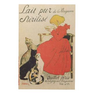 Poster advertising Pure Sterilised Milk