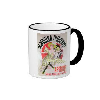 Poster advertising Quinquina Dubonnet' Ringer Mug