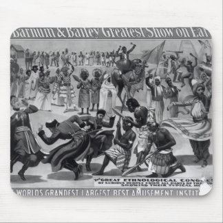 Poster advertising, 'The Barnum and Bailey Mouse Mat