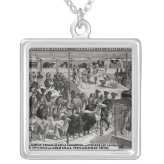 Poster advertising, 'The Barnum and Bailey Silver Plated Necklace