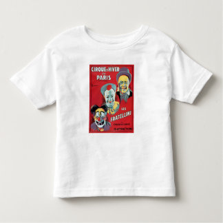 Poster advertising the 'Cirque d'Hiver de Paris' Toddler T-Shirt