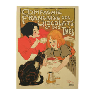 Poster Advertising the French Company of Chocolate