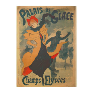Poster advertising the Palais de Glace