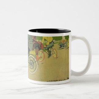 Poster advertising Two-Tone coffee mug