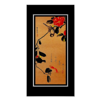 Poster Asian Vintage Art Utagawa Hiroshige, Japan