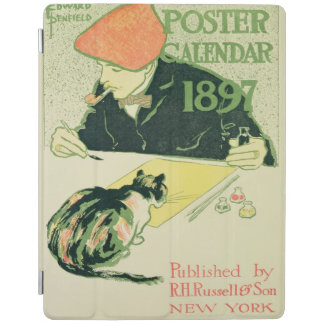 Poster Calendar, pub. by R.H. Russell & Son, 1897 iPad Cover