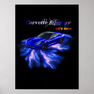 Poster: Chevy Corvette Poster