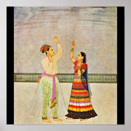 Poster-Classic Art-Indischer Maler 23 Poster