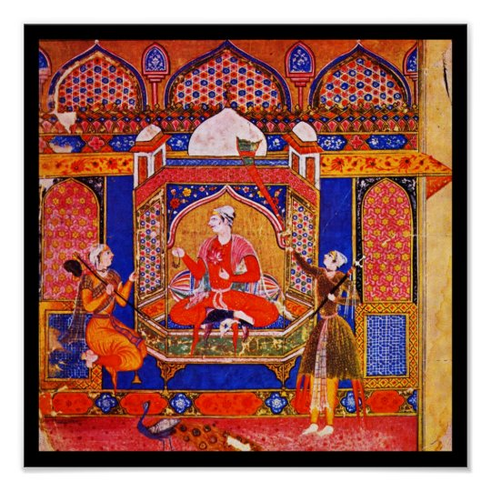 Poster-Classic Art-Indischer Maler 7 Poster