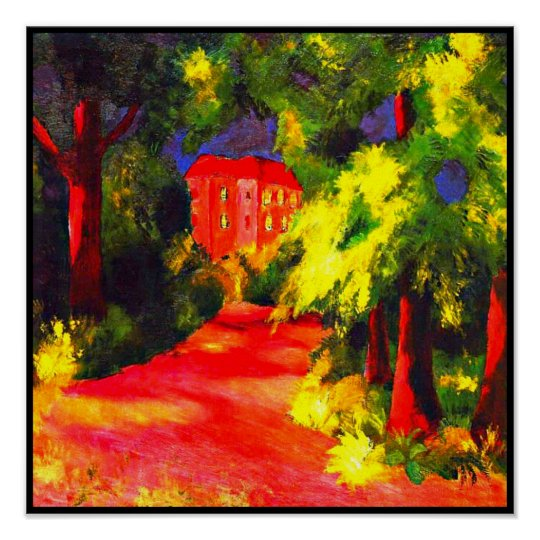 Poster-Classic/Vintage-August Macke 115 Poster