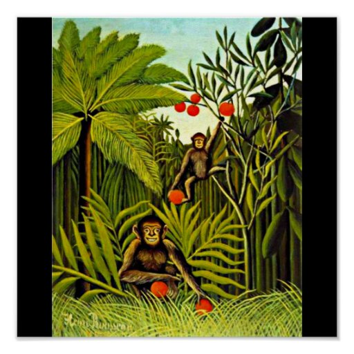 Poster-Classic/Vintage-Henri Rousseau 22 Poster