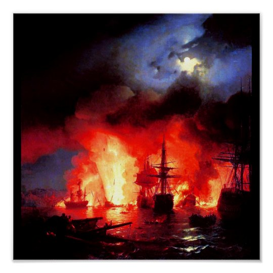 Poster-Classic/Vintage-Ivan Aivazovsky 4 Poster
