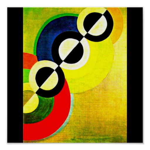 Poster-Classic/Vintage-Robert Delaunay 10 Poster