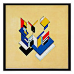 Poster-Classic Vintage-Theo Van Doesburg 20 Poster
