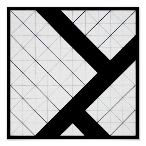 Poster-Classic Vintage-Theo Van Doesburg 23 Poster