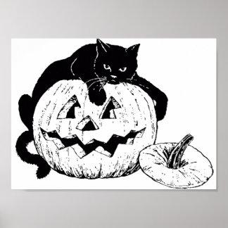 Poster � colorier pour Halloween -