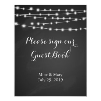 Poster Create your own Chalkboard print