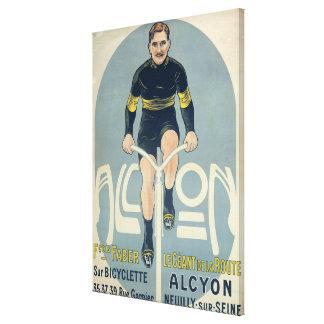 Poster depicting Francois Faber Canvas Print