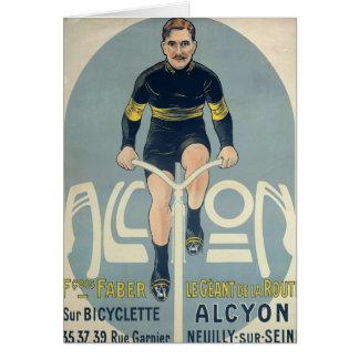 Poster depicting Francois Faber Greeting Card