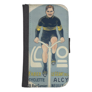 Poster depicting Francois Faber Galaxy S4 Wallet Cases