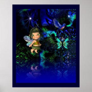 Poster Fantasy Art Star Angel Girl