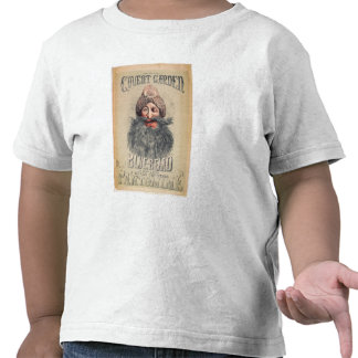 Poster for a Christmas pantomime T-shirt