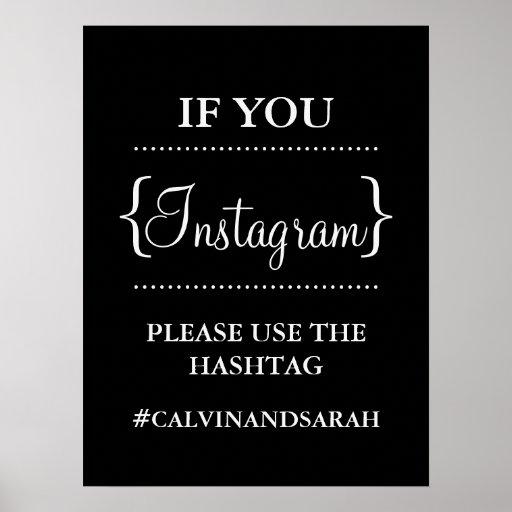 Poster - Instagram Message Print