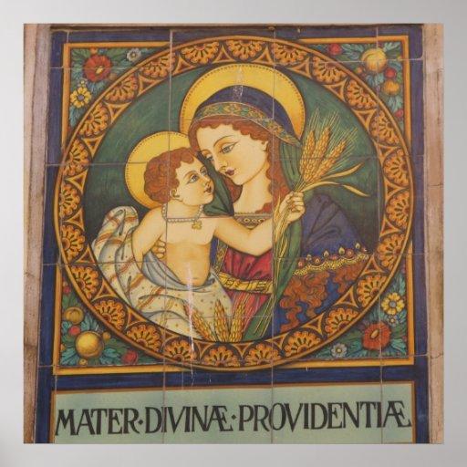 Poster--Italian Madonna Poster