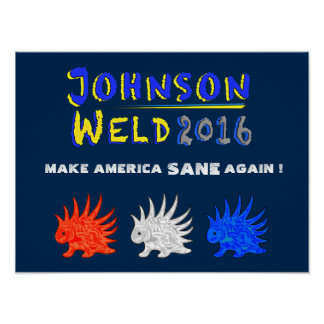 Poster, Johnson-Weld -01 Poster