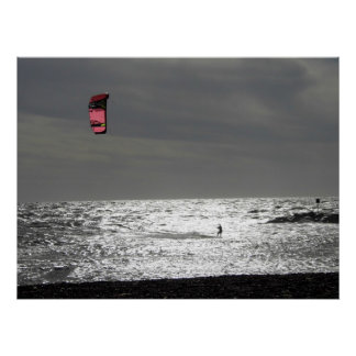 Poster - Kite Surfer