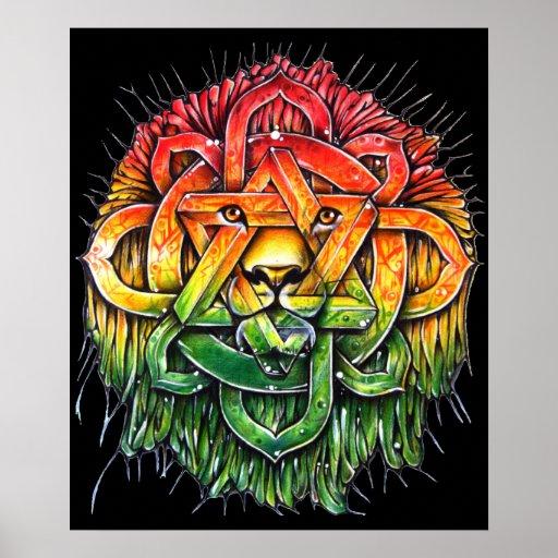 Poster Lion Zion - M1