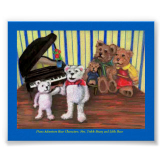 Poster Little Bear s First Piano Lesson