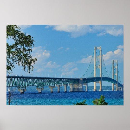 Poster Mackinac Bridge