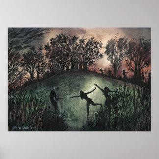 Poster Moonlight Dance