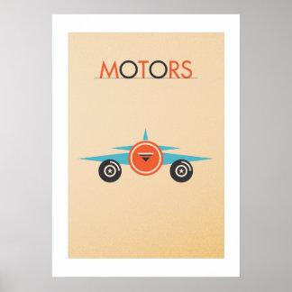 Poster MOTORS: Plane The