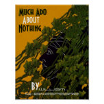 Poster Much Ado About Nothing William Shakespeare
