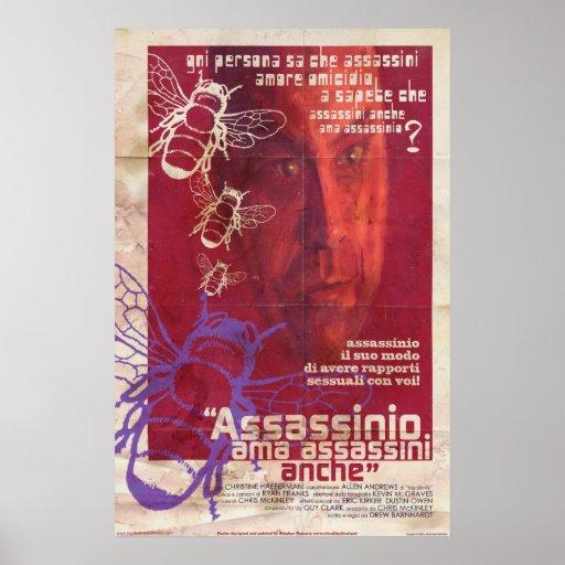 Poster - Murder Loves Killers Too Italian Style