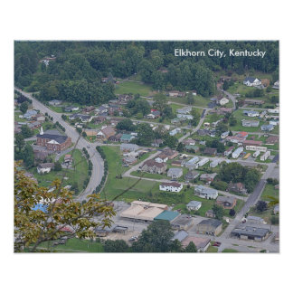 Poster of Elkhorn City, Kentucky - 2014