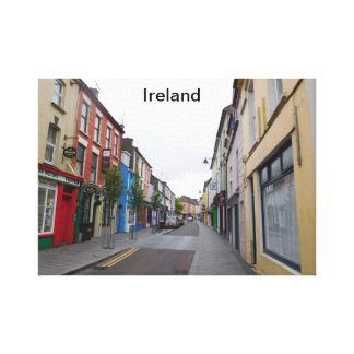 Poster of Ireland Canvas Print