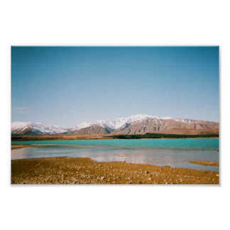 Poster of Lake in New Zealand