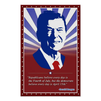 Poster of Ronald Reagan