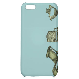 Poster of turquoise chairs case for iPhone 5C