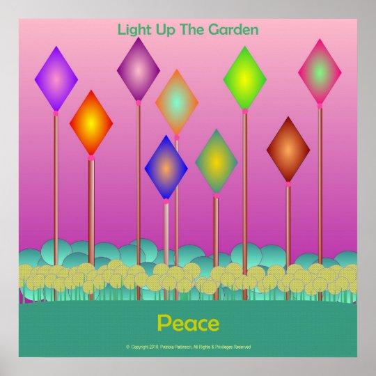 Poster - Peace Garden
