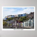 "Poster Photograph of Cliftonwood, Bristol, 28""x20"""