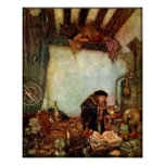 Poster/Print: Alchemist and His Gold-Edmund Dulac