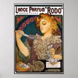 "Poster/Print:  Alphonse Mucha-Lance Parfum ""Rodo"""