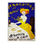 Poster/Print: Amandines de Provence by Cappiello Poster